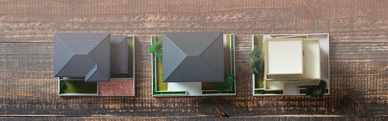 Modelle von Immobilien