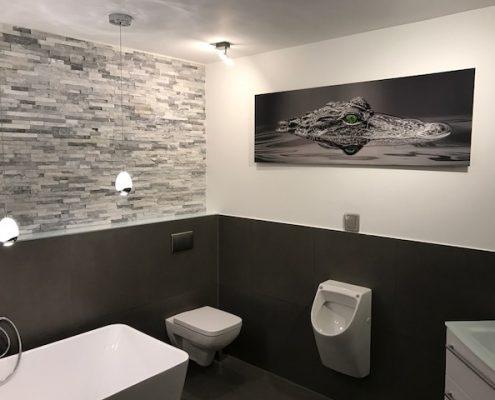 WC und Urinal