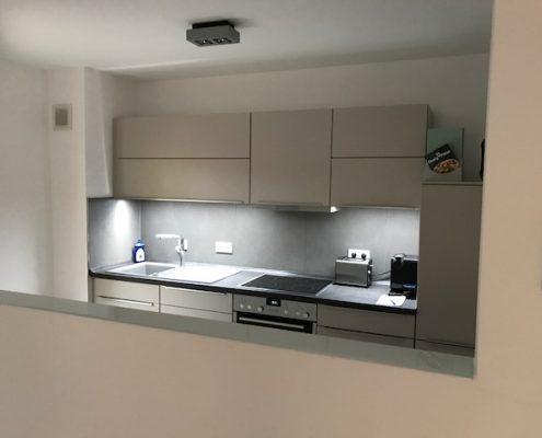 Küche in renovierter Wohnung