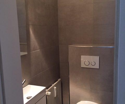 Saniertes Gäste-WC